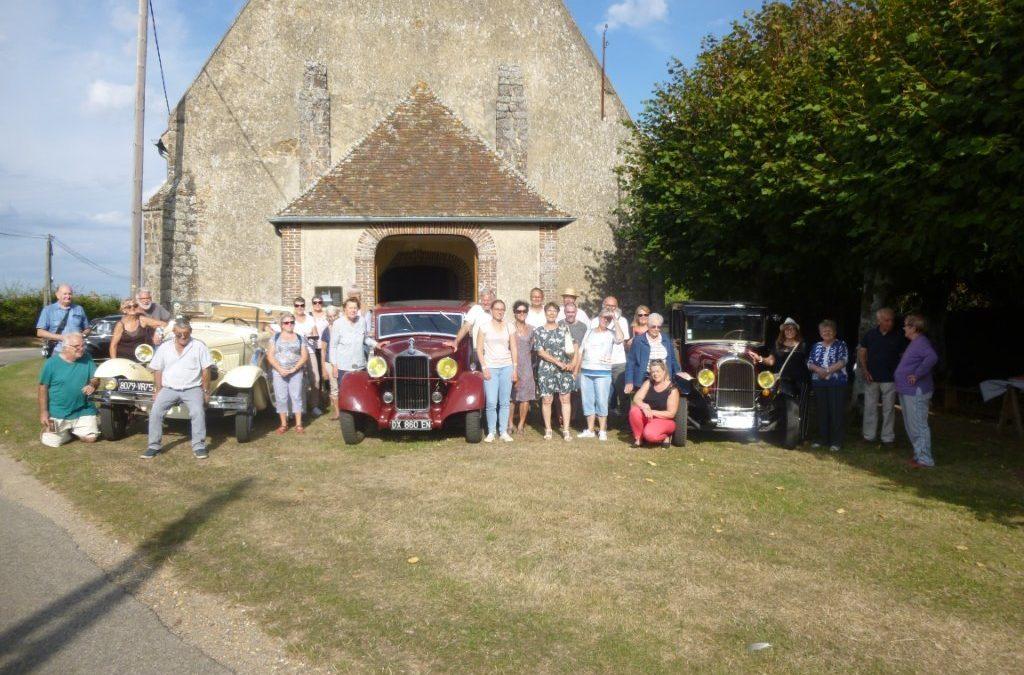 Le comité des fêtes a accueilli le circuit VLAMINCK à l'église de Rueil